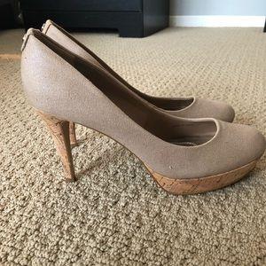 Cork 4in heels